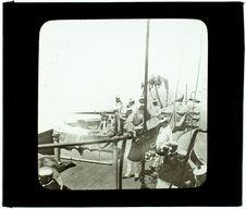 Ligue maritime. Manoeuvre du canon