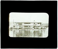 Ligue maritime. Cannonière coloniale fluviale
