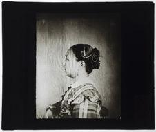 Femme Esquimaude. [Portrait de profil]