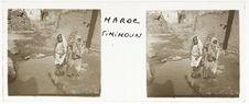 Timimoun [trois enfants dans une ruelle]
