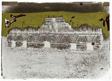 palais des nonnes à Uxmal, façade dite Egyptienne