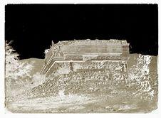quatrième palais à Mitla, côté sud