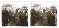 Nam Dinh, Phu Giay - Médiums la joue transpercée d'une tige de fer