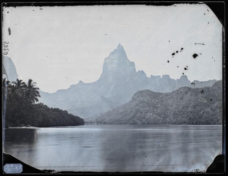 Baie de Papetoai à Moréa