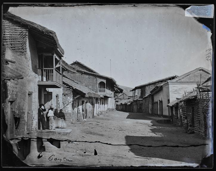 Vue d'une rue de Payta (Pérou)