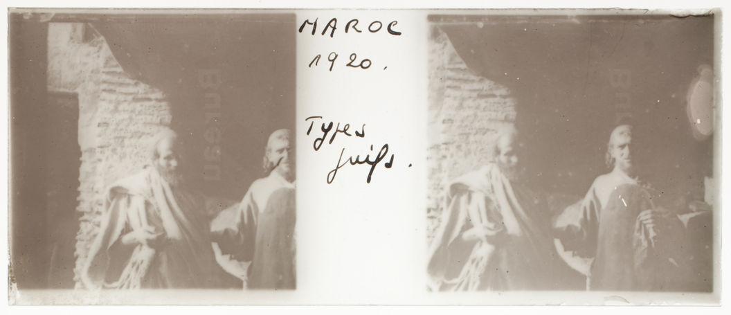 Maroc. Types juifs [deux hommes]