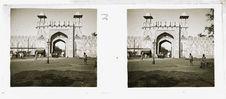Sans titre [une des entrées de l'enceinte du Taj Mahal]