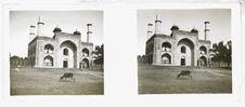 Sans titre [une mosquée dans les jardins du Taj Mahal]
