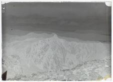 La chaîne des Guérites, vue prise face au Nord