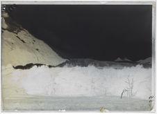 Glacier du Mont Darwin, moraine frontale