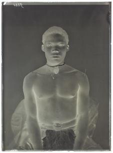 Angolais- homme. face [Portrait de profil, en buste, d'un homme]