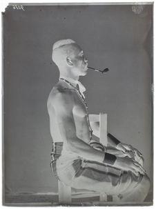 Paï-pi-bri- homme- face [portrait d'homme]