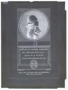 Portrait buste de Charles Jean Marie Alguier