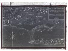 Plan de Pensacole et des deux forts Espagnols