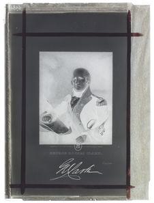 Portrait buste de George Rogers Clark