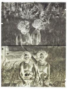 Deux hommes de Wolo, face et profil