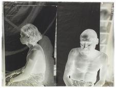 Type portugais, face et profil [Portrait de deux hommes]
