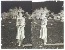 Homme de Bampour à Tès (face et profil)