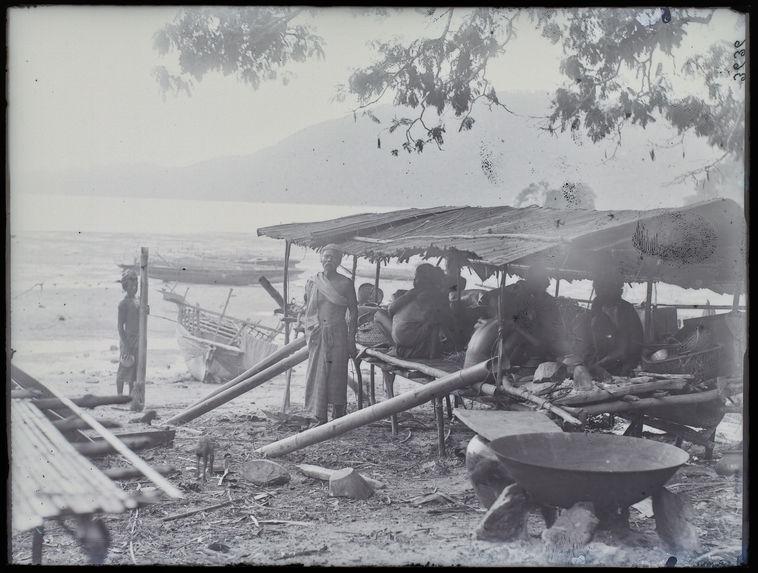 Case dans le village Selo