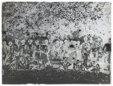 Le Père van Ryckvorsel faisant le catéchisme sur la place de Lewölere (Flores)
