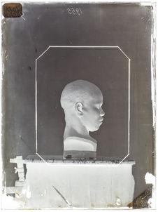 Buste : Dolant. nègre Inhambane. Profil