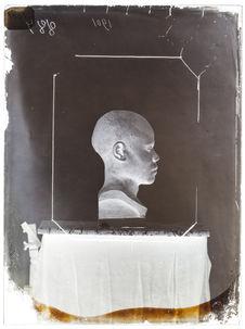 Buste : Bouna-Bouna, femme de Lévouka, profil