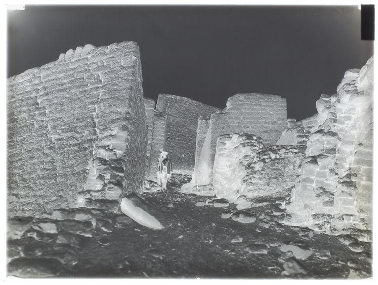 La route dans la Fortaleza de Paramonga