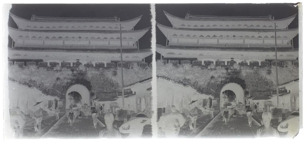 Yunnanfou - Porte de l'Est, vue de l'extérieur