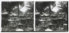 Sans titre [vue d'une pagode]