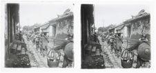 Prisonniers vers la pagode des Rochers