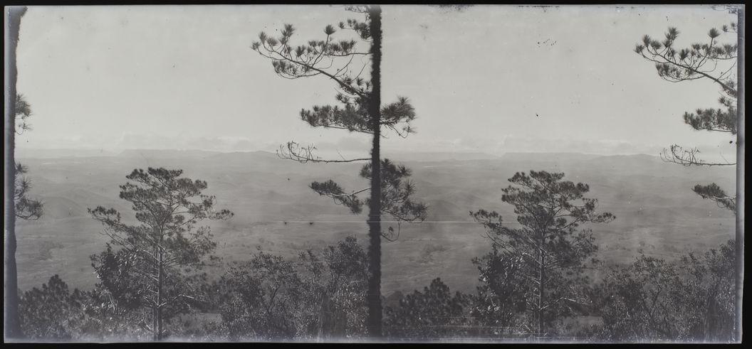 Du Langbian vers Dalat [paysage]