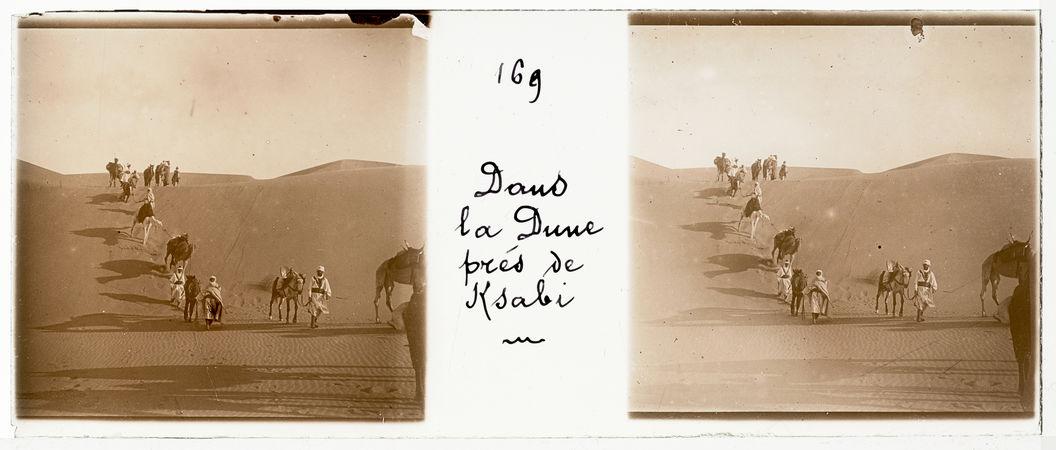 Dans la dune près de Ksabi