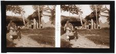 Vers la pagode de Hei-Long-Tan