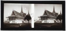 Phnom Penh : Salle du trône (vue d'ensemble)