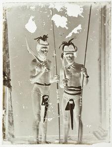 Sans titre [portrait de deux hommes]