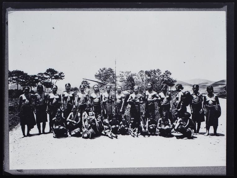 Groupe de Moï de la région de Dalat