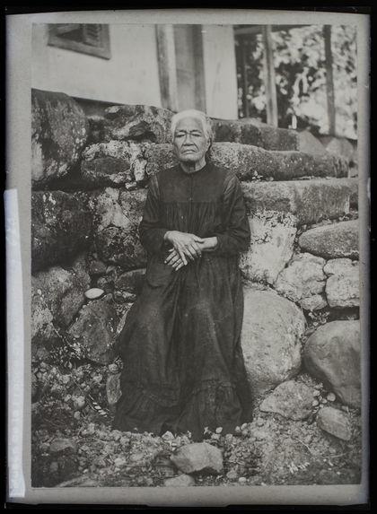 Vaekehu ancienne reine des Marquises