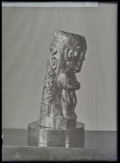Bois sculpté de Gauguin