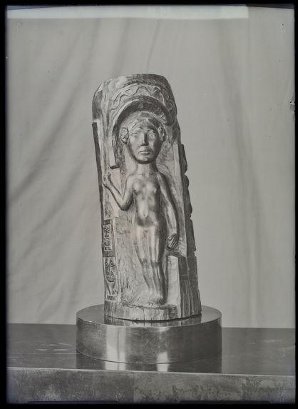 Bois sculpté de Paul Gauguin