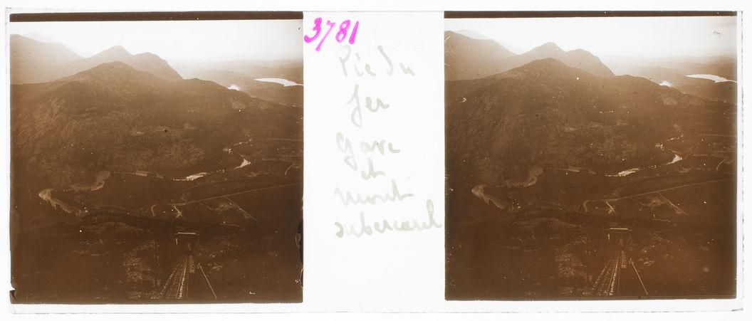 Pic du Jer. Gave et Mont Subercarel [?]