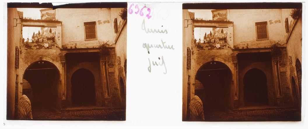 Tunis. Quartier juif