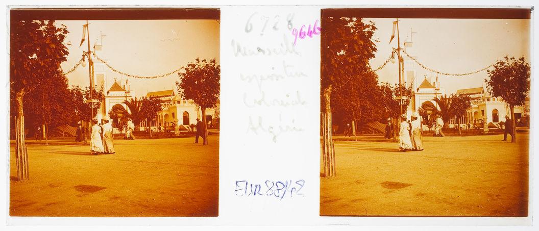 Marseille. Exposition coloniale. Algérie