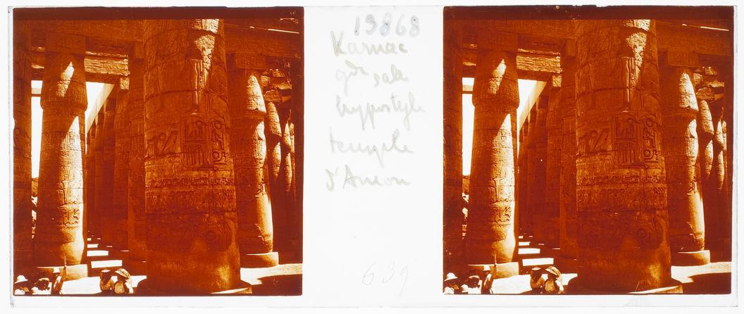 Karnak. Grande salle hypostyle temple d'Amon