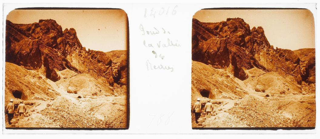Thèbes. Fond de la Vallée des Reines