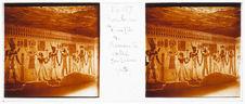 Thèbes. Tombeau d'un fils de Ramsès III. Vallée des Reines (fond)