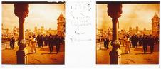 London. Exposition. Cour d'Honneur