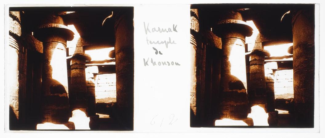 Karnak. Temple de Khonsou