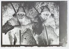 Deux chasseurs Ona