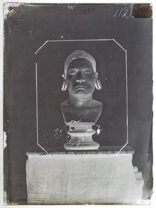 Buste : Botocudo ; sur le buste qui figure dans la collection Anthropologique du...