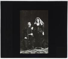 Arméniens de Tiflis [portrait d'un couple]